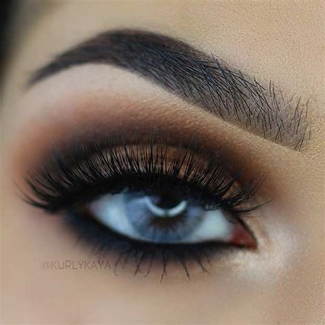 smokey eye  blue eyes promakeuptutor promakeuptutor