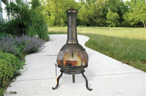 Fireplace Chiminea - how to clean rust a chiminea ebay
