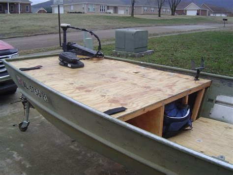 Jon Boat Garage Storage Ideas by After Looking All The Jon Boat Builds On Here I