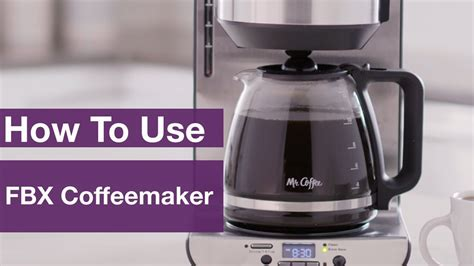 Shop for mr coffee 12 cup programmable coffee maker at bed bath & beyond. How to Use Mr. Coffee® 12-Cup Programmable Coffeemaker - BVMC-FBX39 | buycoffeemugs.com