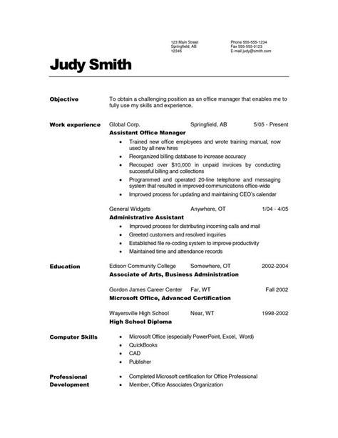Administrative Assistant Resume Objective Exles by Pin En Estilos Pau