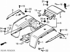 honda trx200 fourtrax 200 1984 usa parts list partsmanual With honda trx200 fourtrax 200 1984 usa wire harness battery schematic
