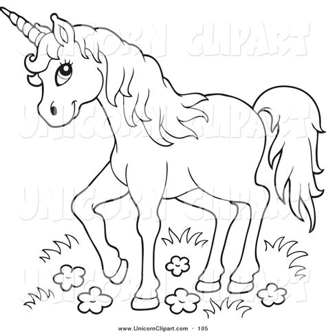 unicorn clipart black and white royalty free lineart stock unicorn designs