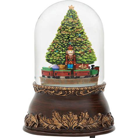 star bell revolving musical xmas tree holder glitterdome musical revolving tree and keepsake boxes gifts