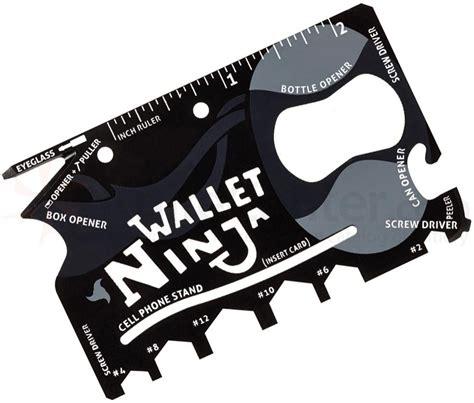 Sharpen Kitchen Knives Wallet 18 In 1 Multi Tool Knifecenter Ninja01