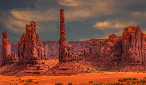 mountains monument valley southwest usa landscape