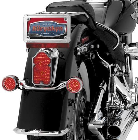 harley davidson led tombstone tail light conversions by kuryakyn