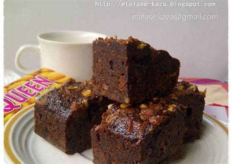 resep brownies silverqueen oleh sheilla agustin cookpad