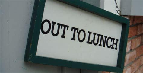 lunch break  socialise