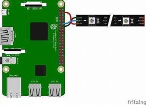 Wiring Ws2812b Addressable Leds To The Raspbery Pi