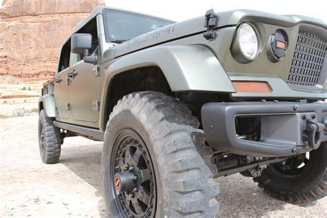 jeep moab truck 2016 jeep mopar offroad 4x4 custom truck concept moab ejs