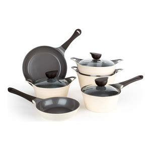 neoflam  piece eela cast aluminum cookware set contemporary cookware sets  neoflam