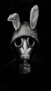 Image de dark, creepy, and gas mask | mASK bEING ...