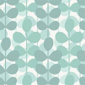 The Wallpaper Company 56 sq. ft. Aqua Leaf Wallpaper ...