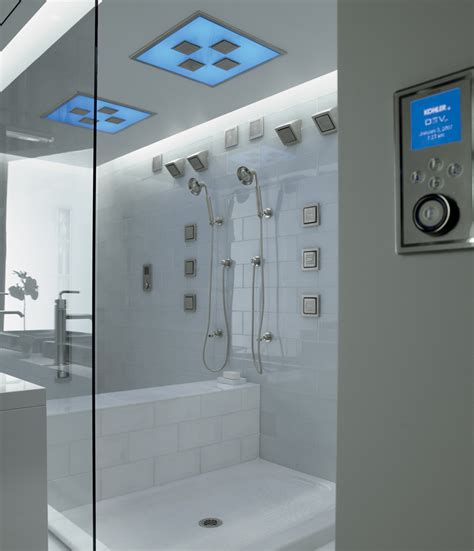 modern bathroom renovation ideas luxury showers with kohler