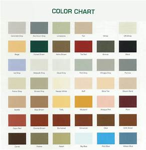 General Color Chart