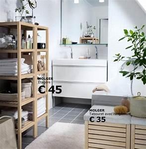 Ikea Salle De Bain Rangement : meuble rangement salle de bain ikea table de lit ~ Teatrodelosmanantiales.com Idées de Décoration
