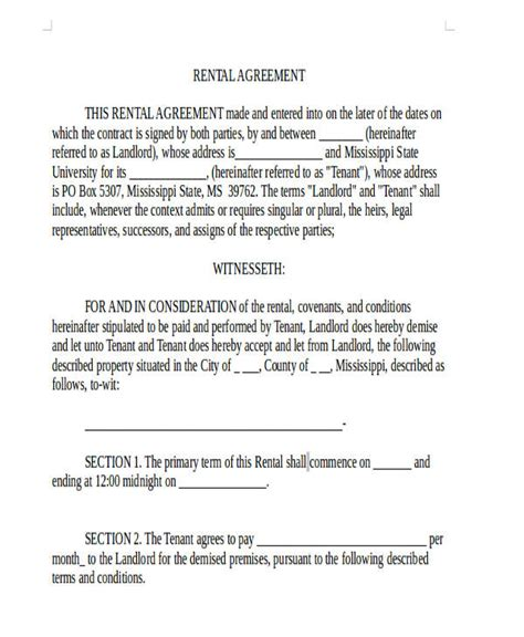 Office Space Rental Agreement by 35 Commercial Lease Agreement Sles Word Pdf Pages
