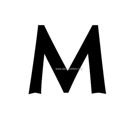 oregon small letter stencils