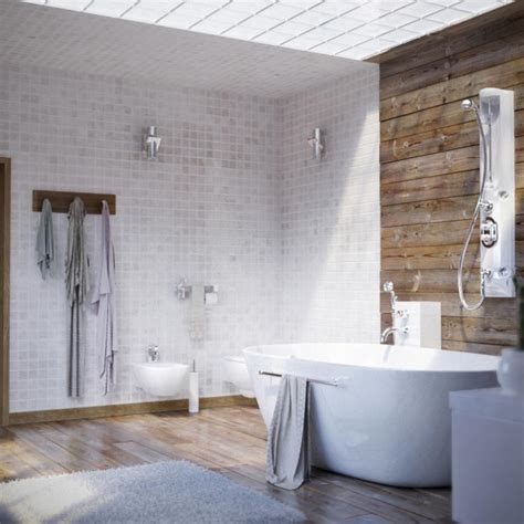 Badezimmer Landhausstil Modern by 30 Awesomely Airy Bathroom Designs With Skylight Rilane