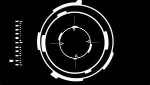 Futuristic Science Fiction Lock On Sniper Target HUD on a ...