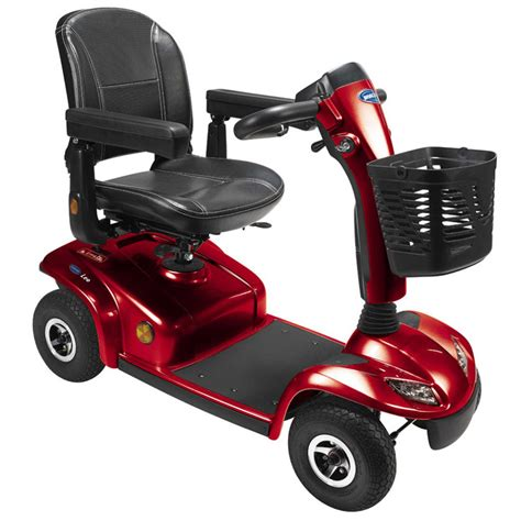 scooter 233 lectrique invacare leo ruby 4 roues