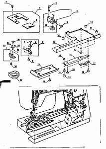 Kenmore 3851764180 Mechanical Sewing Machine Parts