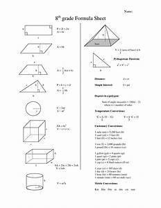 Best 25  Math Formula Sheet Ideas On Pinterest