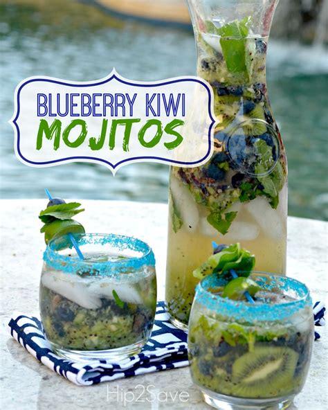blueberry kiwi mojitos hipsave alcohol recipes mojito