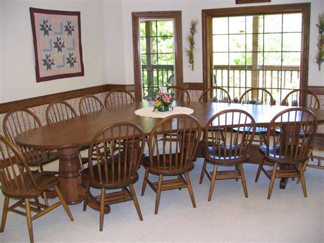 unique dining room table  chairs northwood auctions