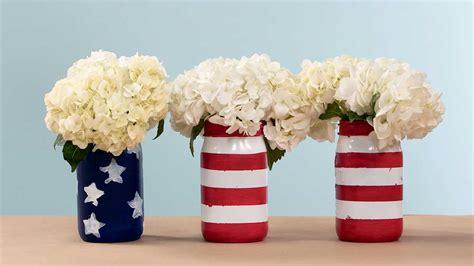 Recipes Patriotic Planting by Patriotic Painted Jars Southern Living