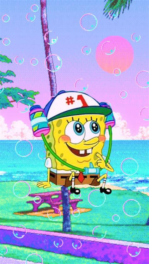Aesthetic Wallpaper Spongebob by Spongebob Aesthetic Phone Wallpapers 3 In 2019 E D I T