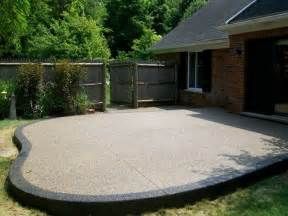 exposed aggregate patio images