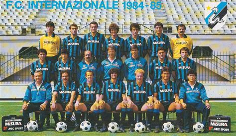 Football teams shirt and kits fan: Retro: Inter Milan 1984 ...