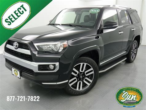 2015 4runner Limited by Pre Owned 2015 Toyota 4runner Limited 4d Sport Utility