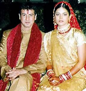 Neelam Singh And Ronit Roy Marriage Photos