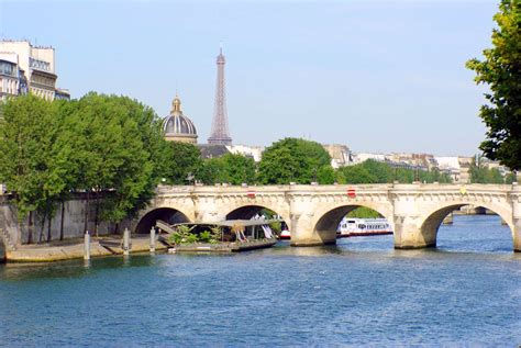 A Few Words About The Banks Of River Seine In Paris