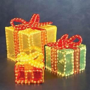 Weihnachtsbeleuchtung Für Draußen : 3d lichtschlauch silhouette geschenkw rfel bunt konstsmide au en 2214 500 xmas ebay ~ Frokenaadalensverden.com Haus und Dekorationen