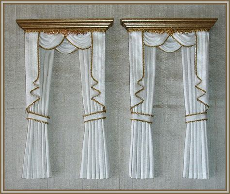 162 best images about miniature curtains on