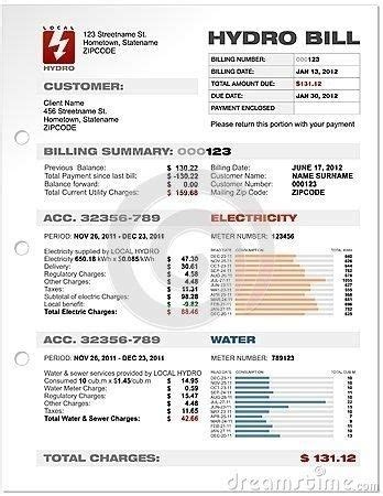 utility bill template free utility bill template printable sle cable tv electric water gas
