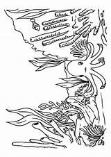 Meer Coloring Sea Under Ozean Octopus Ausmalbilder Sheets Ausmalbild Planet Doghousemusic Sponge Momjunction sketch template
