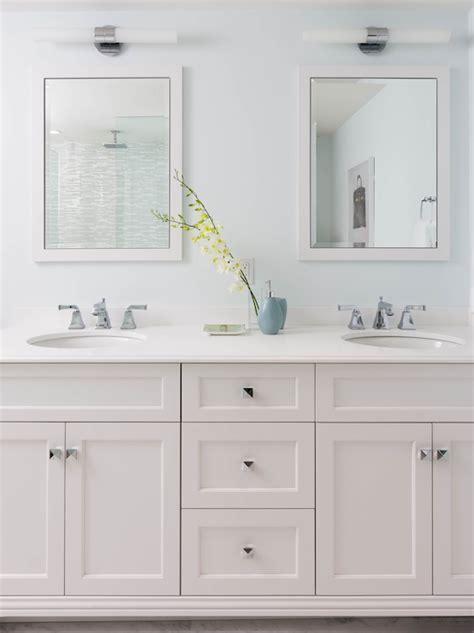 gray shaker bath cabinets design ideas