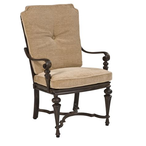 black stained wood dining chair with beige upholstered