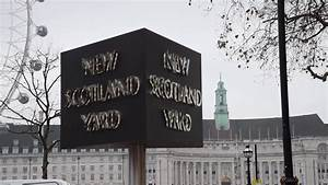 New Scotland Yard sign official switch on - YouTube