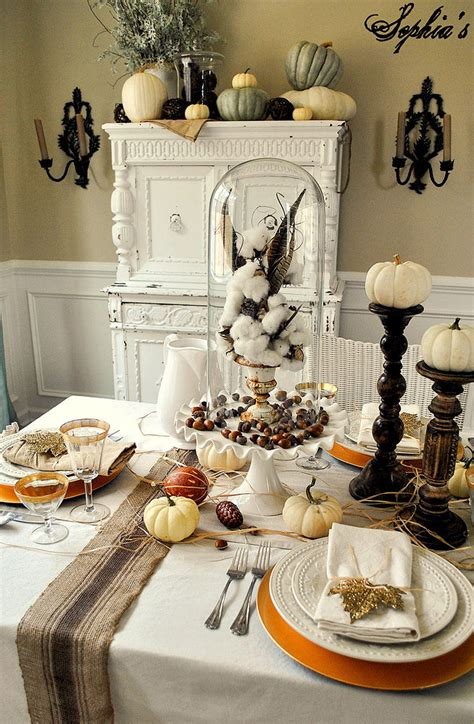 hometalk rustic glam thanksgiving table setting