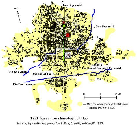 wide urban world teotihuacan ancient mesoamerican metropolis