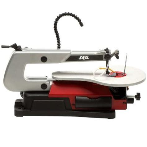 skil 1 2 amp 16 in scroll saw with light 3335 07 the