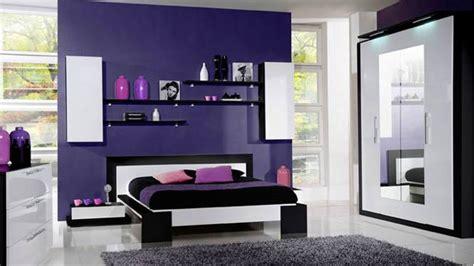 peinture violette pour chambre une chambre très féminine