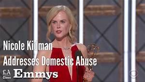 Nicole Kidman Addresses Domestic Abuse In Emmy Speech ...