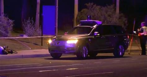 driving uber car involved  fatal accident  arizona